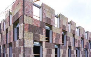 Sustainable building made from recycled material