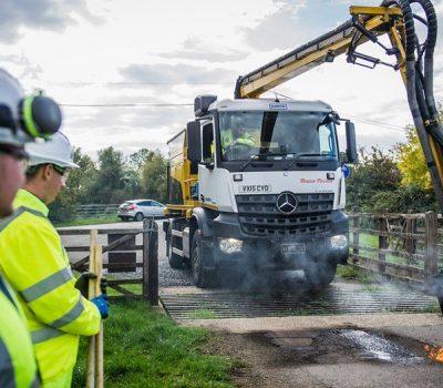 Skanska Highway maintenance work